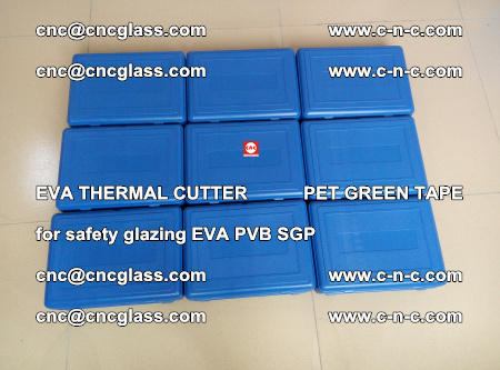 EVA THERMAL CUTTER PET GREEN TAPE supporting EVALAM INTERLAYER FILM GLAZING (11)
