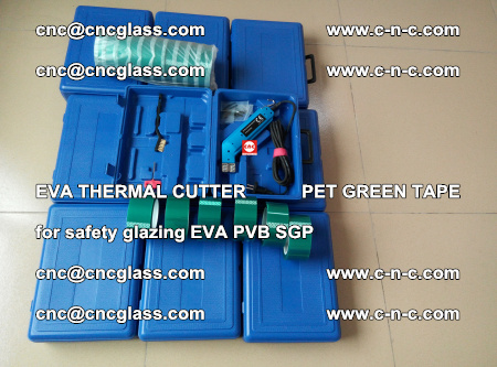 EVA THERMAL CUTTER PET GREEN TAPE supporting EVALAM INTERLAYER FILM GLAZING (57)