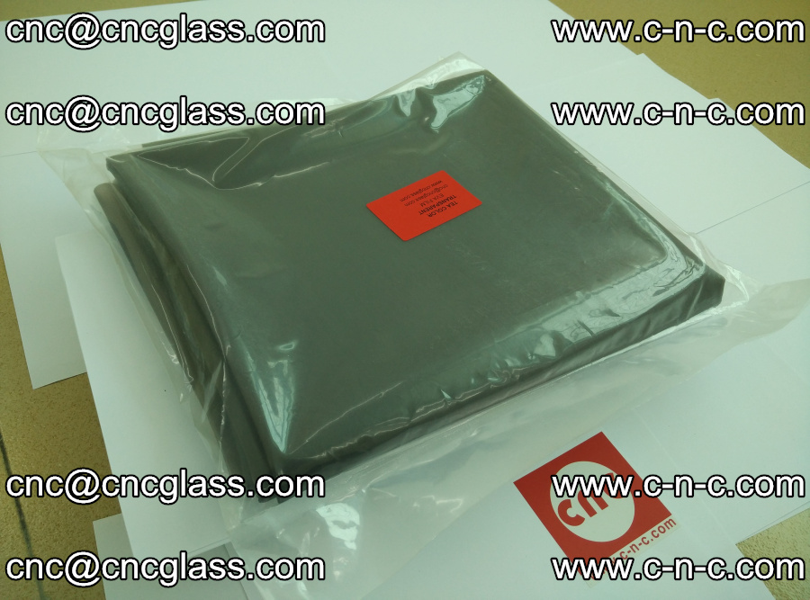 EVA glass laminating interlayer film Ethylene Vinyl Acetate Tea Color (tea color transparent eva) (10)