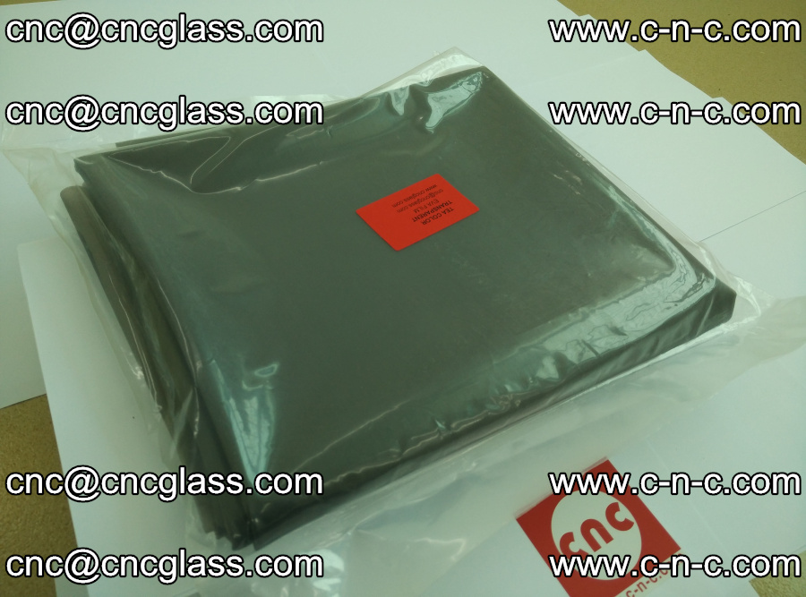 EVA glass laminating interlayer film Ethylene Vinyl Acetate Tea Color (tea color transparent eva) (3)