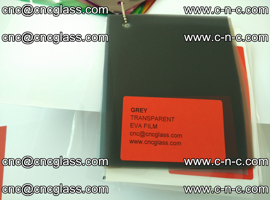 EVA glass laminating interlayer film Ethylene Vinyl Acetate (grey transparent color) (2)