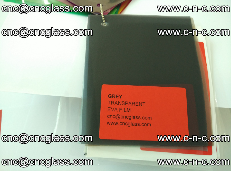 EVA glass laminating interlayer film Ethylene Vinyl Acetate (grey transparent color) (3)